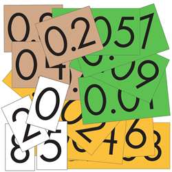 Place Value Cards 4 Value St Of 480 Decimal Whole , ELP626661