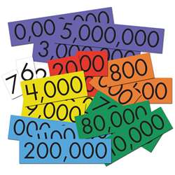 Place Value Cards 7 Value Whole Num Sensational Ma, ELP626663