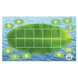 Froggy Ten-Frame Floor Mat, ELP626673