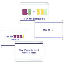 Math Hands On Tally Marks Card Gr 2 Set, ELP626681