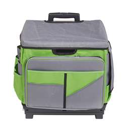Gray/Green Roll Cart/Organizer Bag, ELR0550BGN