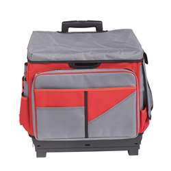 Red Rolling Cart/Organizer Bag, ELR0550BRD