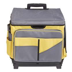 Yellow Rolling Cart/Organizer Bag, ELR0550BYE