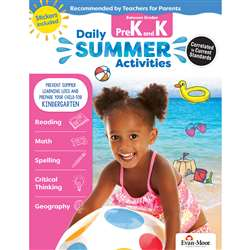 Moving From Prek To Kindergarten Daily Summer Acti, EMC1070