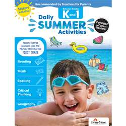 Moving From K To 1St Grade Daily Summer Activities, EMC1071