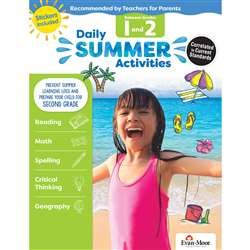Moving From 1St To 2Nd Grade Daily Summer Activiti, EMC1072