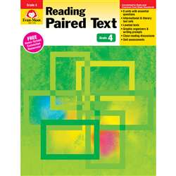 Shop Gr 4 Reading Paired Text Lessons For Common Core Mastery - Emc1374 By Evan-Moor