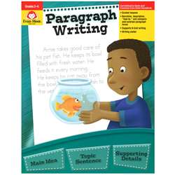 Paragraph Writing Gr 2-4 By Evan-Moor