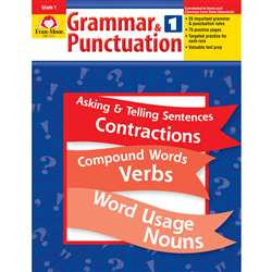 Grammar & Punctuation Grade 1 By Evan-Moor