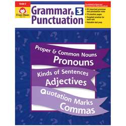 Grammar & Punctuation Grade 3 By Evan-Moor