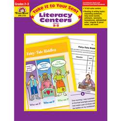 Take It To Your Seat Literacy Centers By Evan-Moor