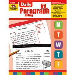 Daily Paragraph Editing Grade 4 By Evan-Moor