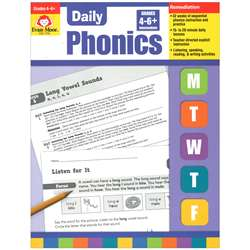 Daily Phonics Practice Gr 4-6 By Evan-Moor