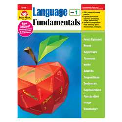 Language Fundamentals Gr 1 Common Core Edition, EMC2881