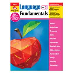 Language Fundamentals Gr 3 Common Core Edition, EMC2883