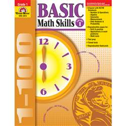 Basic Math Skills Grade 1 By Evan-Moor