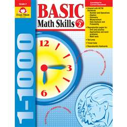 Basic Math Skills Grade 2 By Evan-Moor