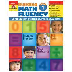 Math Fluency Gr 1 By Evan-Moor