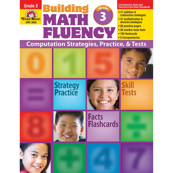Math Fluency Gd 3 By Evan-Moor