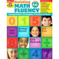 Math Fluency Gd 4-6+ By Evan-Moor
