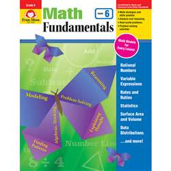 Math Fundamentals Gr 6, EMC3086