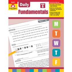 Daily Fundamentals Gr 6, EMC3246
