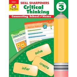 Gr 3 Skill Sharpeners Critical Thinking, EMC3253