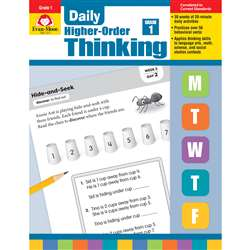 Daily Higher Order Thinking Gr 1, EMC3271