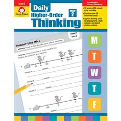 Daily Higher Order Thinking Gr 2, EMC3272