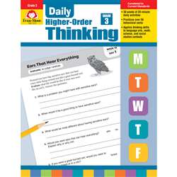 Daily Higher Order Thinking Gr 3, EMC3273