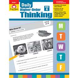 Daily Higher Order Thinking Gr 4, EMC3274