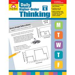 Daily Higher Order Thinking Gr 6, EMC3276