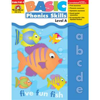 Basic Phonics Skills Level A By Evan-Moor