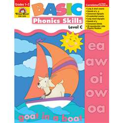 Basic Phonics Skills Level C By Evan-Moor