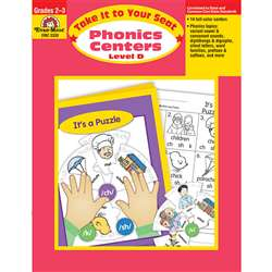Take It To Your Seat Phonics Centers Level D By Evan-Moor