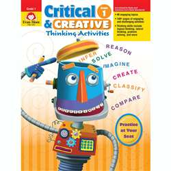 Critical And Creative Thinking Activities Gr 1 By Evan-Moor