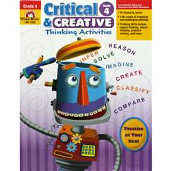 Critical And Creative Thinking Activities Gr 4 By Evan-Moor