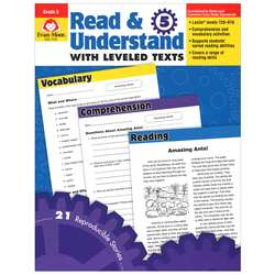 Read And Understand With Leveled Texts Gr 5 By Evan-Moor