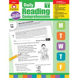 Daily Reading Comprehension Gr 1, EMC3611