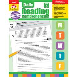 Daily Reading Comprehension Gr 5, EMC3615