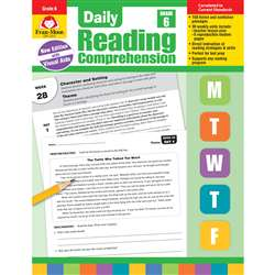 Daily Reading Comprehension Gr 6, EMC3616