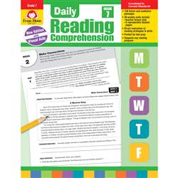 Daily Reading Comprehension Gr 7, EMC3617