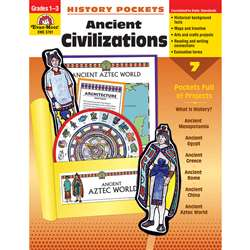 History Pockets Ancient Civilizations By Evan-Moor