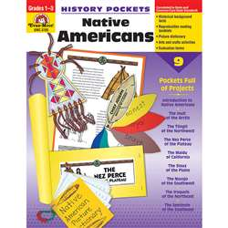 History Pockets Native Americans By Evan-Moor