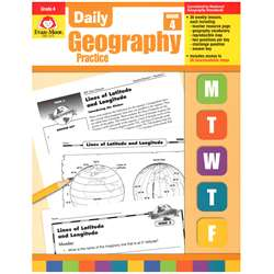 Daily Geography Practice Grade 4 By Evan-Moor