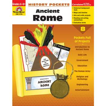 Ancient Rome Emc By Evan-Moor