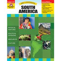 7 Continents South America By Evan-Moor