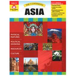 7 Continents Asia By Evan-Moor