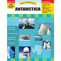 7 Continents Antarctica And The Arctic Regions By Evan-Moor