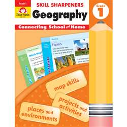 Skill Sharpeners Geography Gr 1, EMC3741
